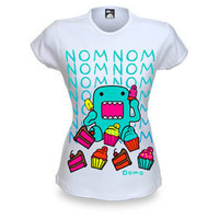 ThinkGeek :: Domo-kun Nom Nom Nom Cupcakes Babydoll