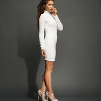 White Stunner Party Dress