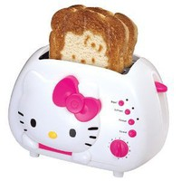 Amazon.com: Hello Kitty Toaster: Home &amp; Garden