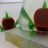 Spiced apple christmas soap £4.25