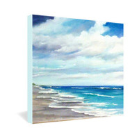 DENY Designs Home Accessories | Rosie Brown Beach 1 Gallery Wrapped Canvas