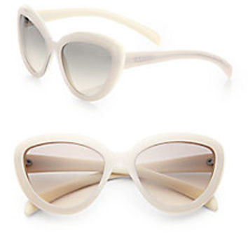 Prada  57 mm Catx27s-Eye Sunglasses  Saks Fifth Avenue Mobile