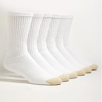 Gold Toe Crew Sport Socks 6-Pack Activewear Hosiery 656S at BareNecessities.com