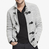 MARLED ELBOW PATCH CARDIGAN from EXPRESS
