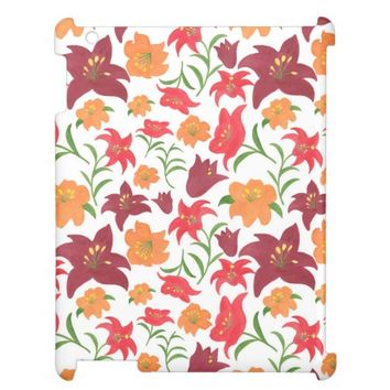 The Fire Lilies Ipad Case