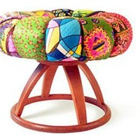 Heywood Wakefield Assault Stool from Apryl Miller Studios | Made By Apryl Miller Studios | 2035.00 | Bouf