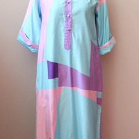 1970s Catherine Ogust Forever Dress, sz S