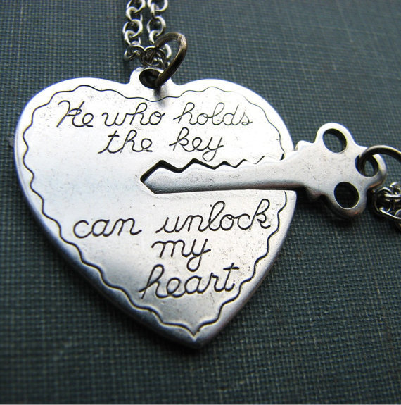 he who holds the key - 2 necklace set