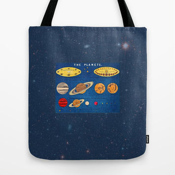 In consideration of the shoulders of giants.  Tote Bag by Anipani