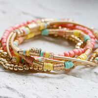 B0016-PM // CLEO Bracelet - Pastel Mix // Birthday Gift, Everyday Jewelry