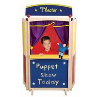 GuideCraft Center Stage Floor Puppet Theater