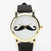 Mustache Watch
