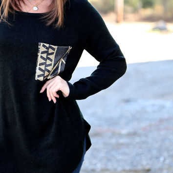 Drops of Jupiter {Sequin Pocket - Black}