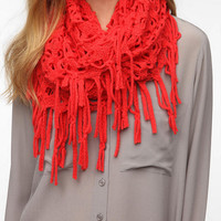 Staring at Stars Netted Fringe Eternity Scarf