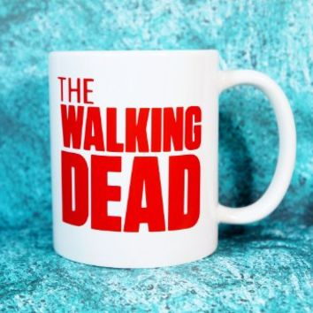 THE WALKING DEAD Coffee Mug. 11 oz. Coffee Cup. Can be used