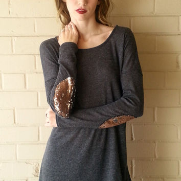 Sequin Touch Top