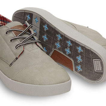 Cool Grey Synthetic Leather Menx27s Paseos