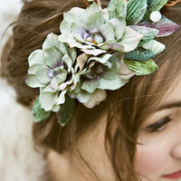 Vine, leaf, and berry Floral Crown