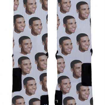 Drake Custom Nike Elite Socks
