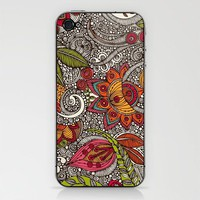 Random Flowers Phone Skin by Valentina Ramos | Society6