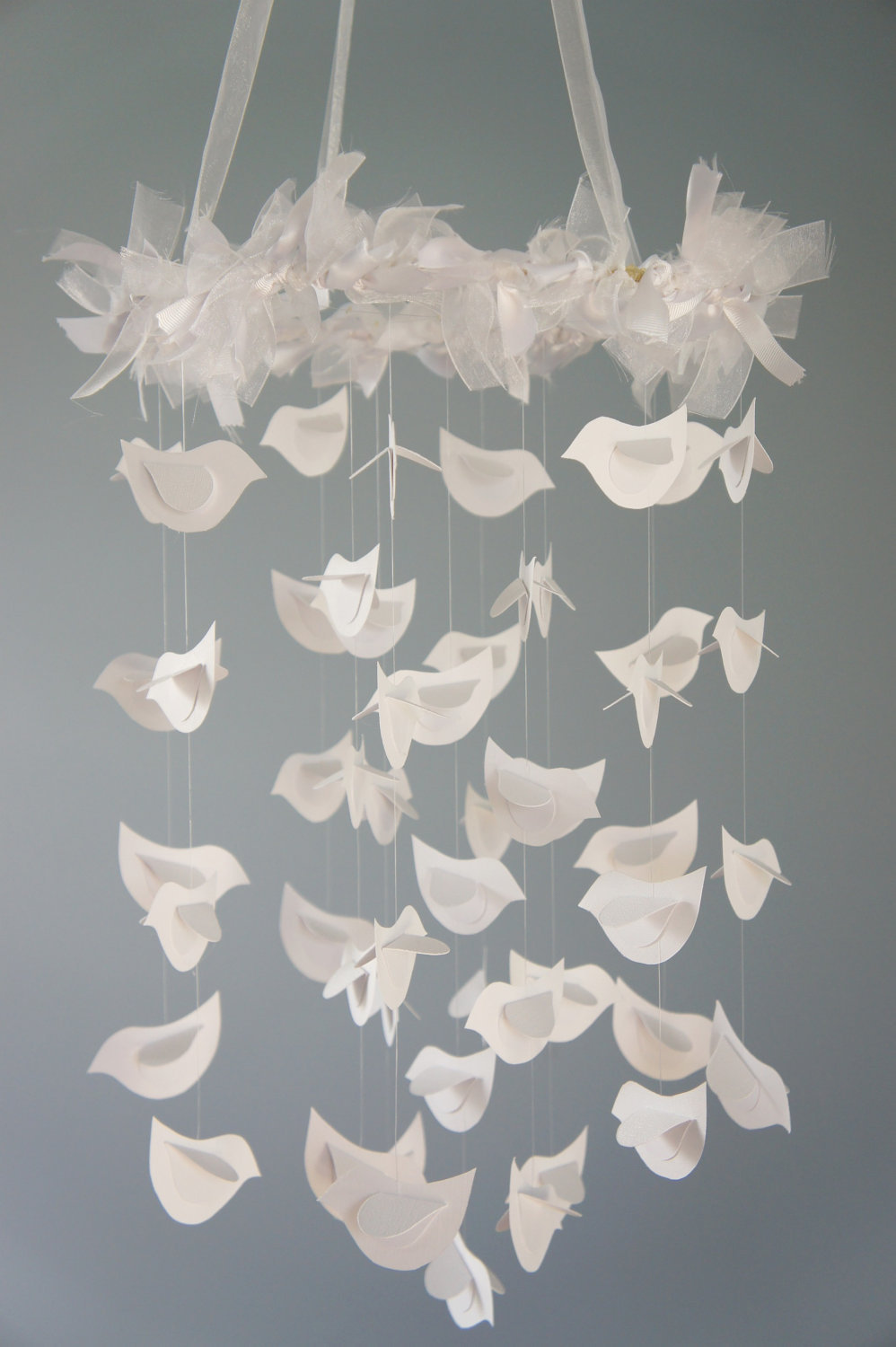 Bird Mobile For Baby Nursery Décor.. on Luulla
