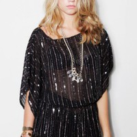 Beaded Tunic in Black- NEW - Shop Online
