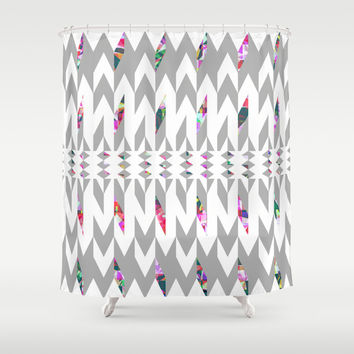 Mix #501 Shower Curtain by Ornaart