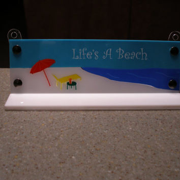 Acrylic solid colors  Life 39s a Beach Beach lovers ocean