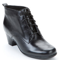Clarks Leyden Bell Waterproof Leather Booties Shoes 26031529 at BareNecessities.com