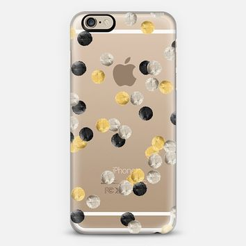 CONFETTI TRIO TRANSPARENT by Monika Strigel iPhone6 iPhone 6 case by Monika Strigel | Casetify