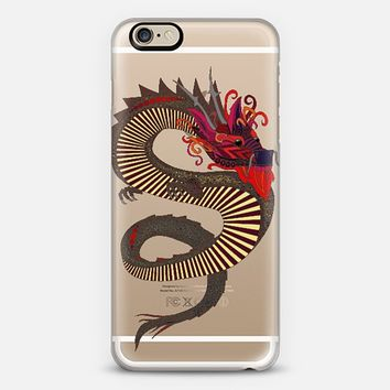 DRAGON TATTOO transparent phone case ~ get $10 off using code: 5A7DC3