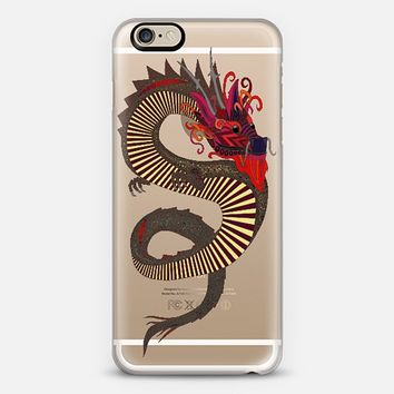 DRAGON INK transparent case ~ get $10 off using code: 5A7DC3