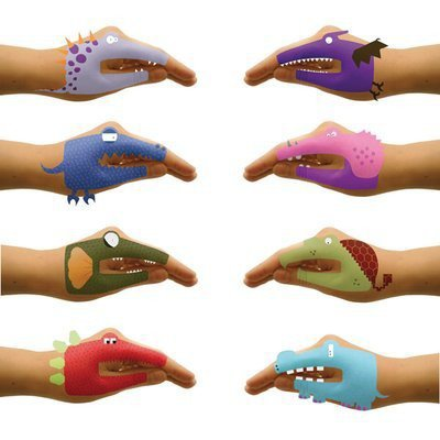 Dinosaur Hands Temporary Tattoos for Talking Hands - Whimsical &amp; Unique Gift Ideas for the Coolest Gift Givers