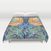 Surfs Up Duvet Cover by Ben Geiger