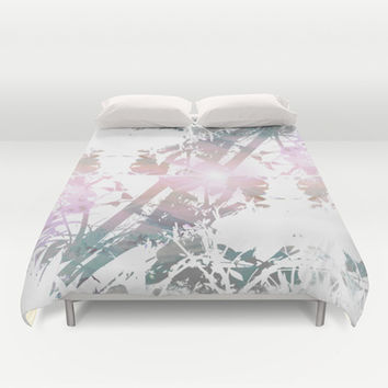 Colors Between and Through Duvet Cover by Ben Geiger