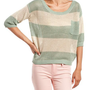 Lurex Stripe Sweater Top: Charlotte Russe