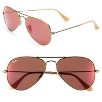 Women's Ray-Ban 'Original Aviator' 58mm Sunglasses
