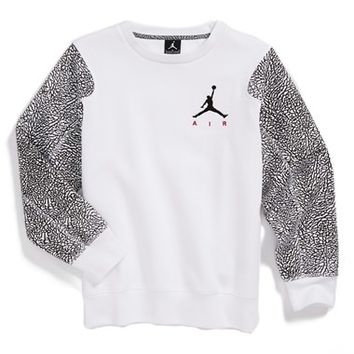 Boyx27s Jordan Fleece Crewneck Sweatshirt