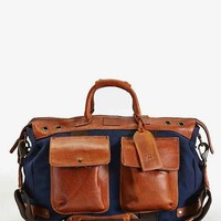 Will Leather Goods Traveler Duffel Bag- Navy One