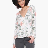 Winter Bloom Blouse