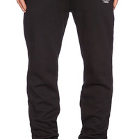 Stussy WT Sweatpants in Black & White
