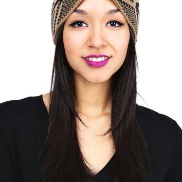 Bow Aztec Head Wrap