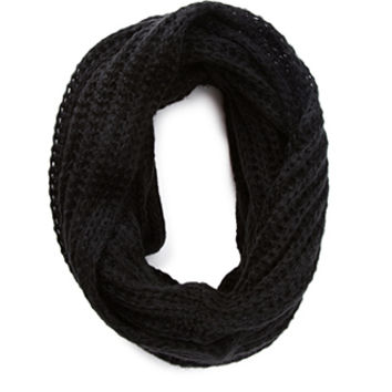 Loose-Knit Infinity Scarf