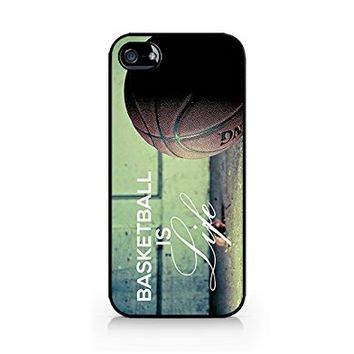 Ball Is Life - Basketball Is Life - iPhone 5/5S Black Case (C) Andre Gift Shop