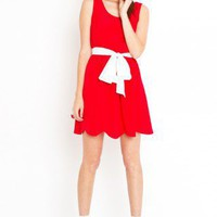 Le Rouge Dress - NASTY GAL