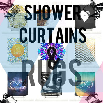 Dez 12 - 24Hr - 20% Off - All Shower Curtains & Rugs by Chrisb Marquez