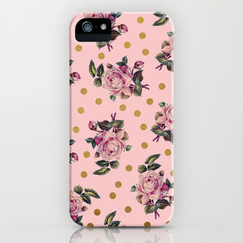 Pink Roses on Pink iPhone & iPod Case by Sandra Arduini
