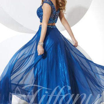 Tiffany Designs 16076 Tiffany Designs Prom Dresses, Evening Dresses and Homecoming Dresses | McHenry | Crystal Lake IL