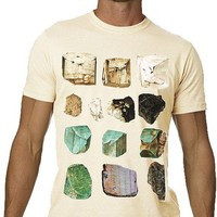Minerals Tshirt Gems Science Tee MENS Shirt