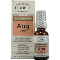 Liddell Homeopathic Letting Go Ang Anger Spray - 1 fl oz - Default